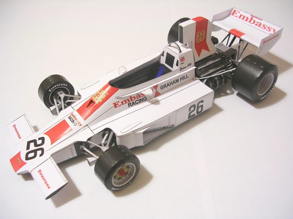 Болид Формулы 1 - Lola T370