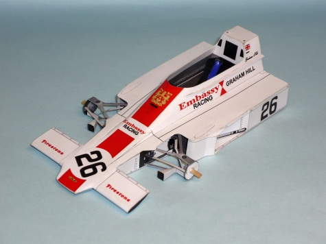 Lola T370 - Graham Hill - GP JAR 1974