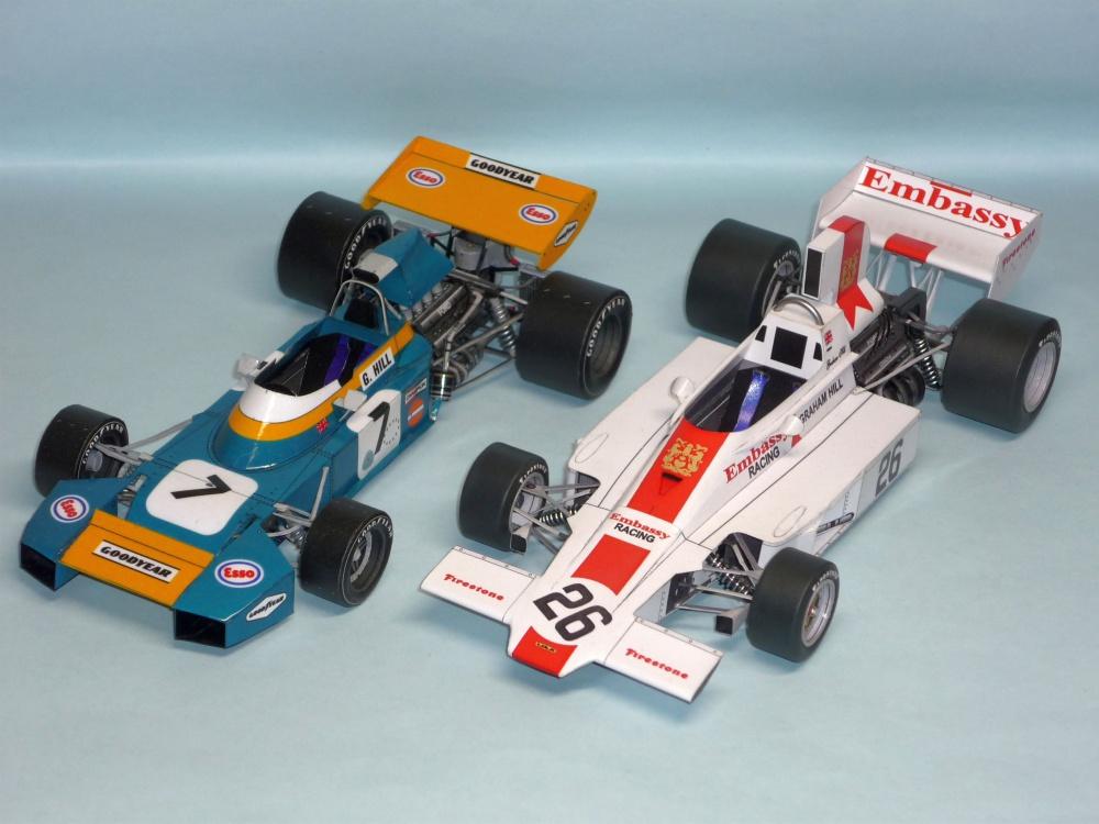 Lola T370 - Graham Hill - GP JAR 1974