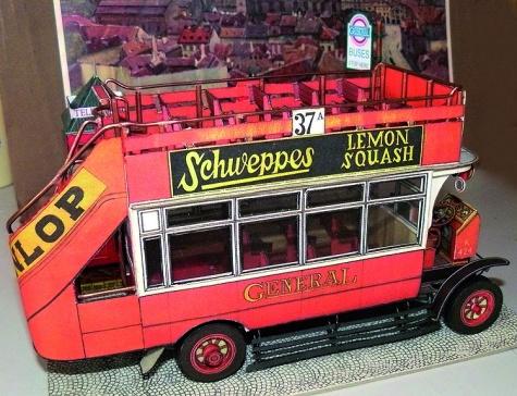 Londýnský bus AEC typ K