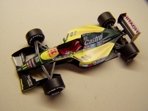 Lotus 107, 1992, M. Häkkinen