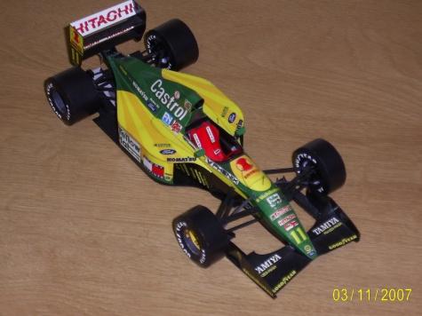 Lotus 107  Mika Hakkinen GP Japonska-Suzuka 1992