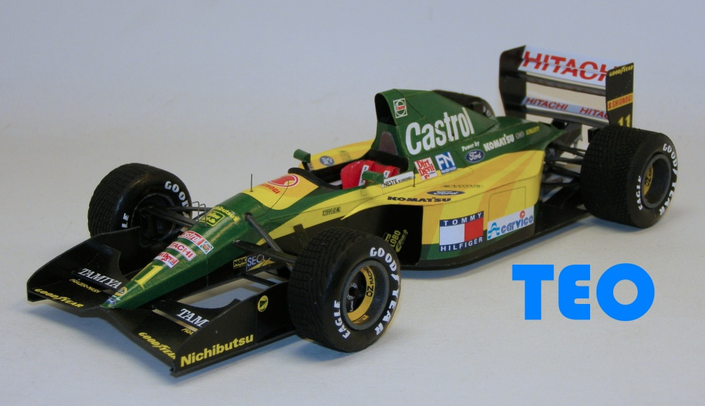 Lotus 107 GP Belgie