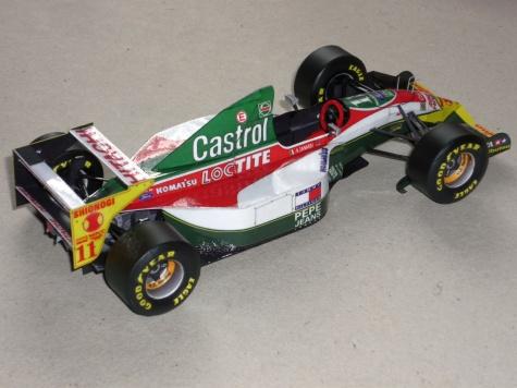 Lotus 107B - Alessandro Zanardi - Monako 93
