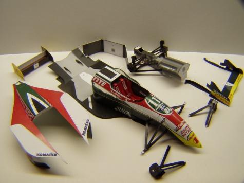Lotus 107B, 1993, A. Zanardi, GP Brazílie