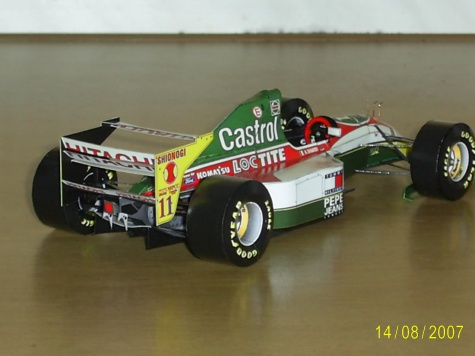 Lotus 107B  A.Zanardi 1993