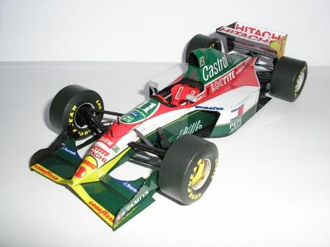 LOTUS 107B,Monaco GP 1993,A.Zanardi