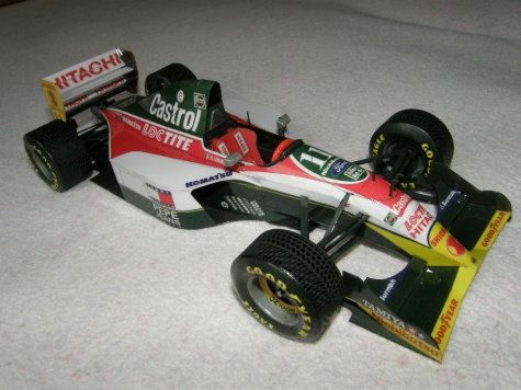 Lotus 107B Zanardi z Brazílie