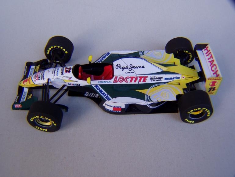 Lotus 107C, 1994, J. Herbert, GP San Marina