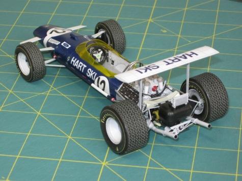 Lotus 49 - hybrid, J. Siffert, GP Canada 1968 - beta