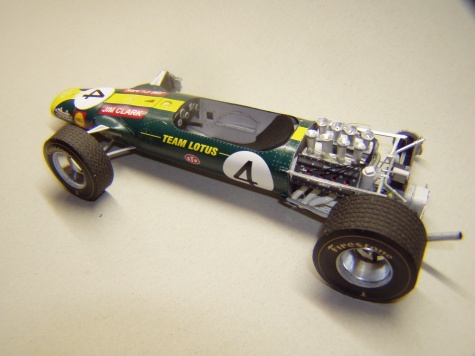 Lotus 49, 1968, J. Clark