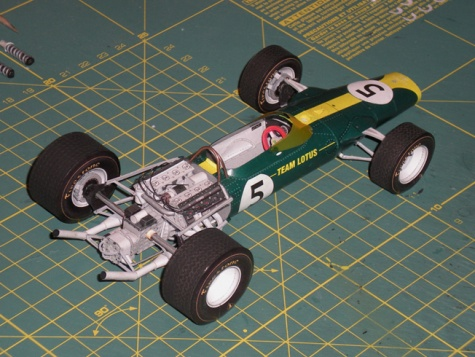 Lotus 49, Dutch 1967, Clark