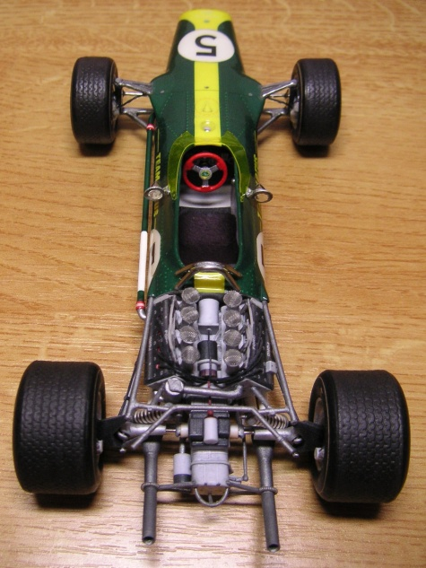 Lotus 49, Dutch GP 1967, Jim Clark