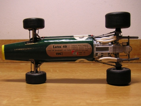 Lotus 49, Dutch GP 1967, Jim Clark