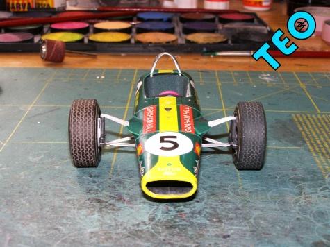 Lotus 49, GP Jižní Afrika 1968