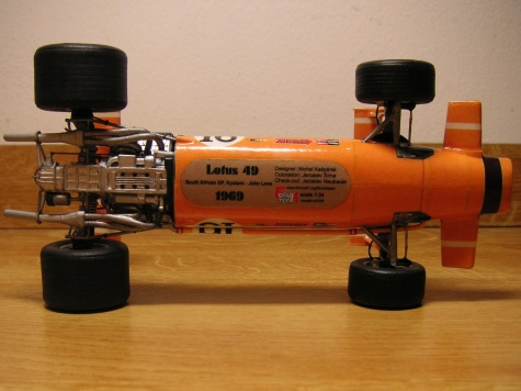 Lotus 49, S.A GP 1969, John Love