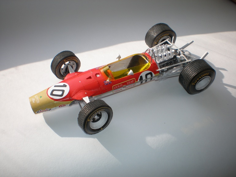 Lotus 49 G.Hill