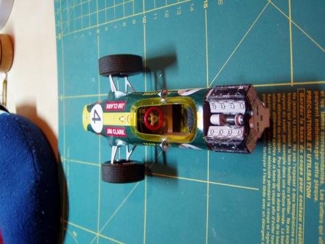 Lotus 49 GP South Africa - Jim Clark