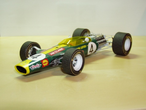 Lotus 49 GP South Africa - Jim Clark