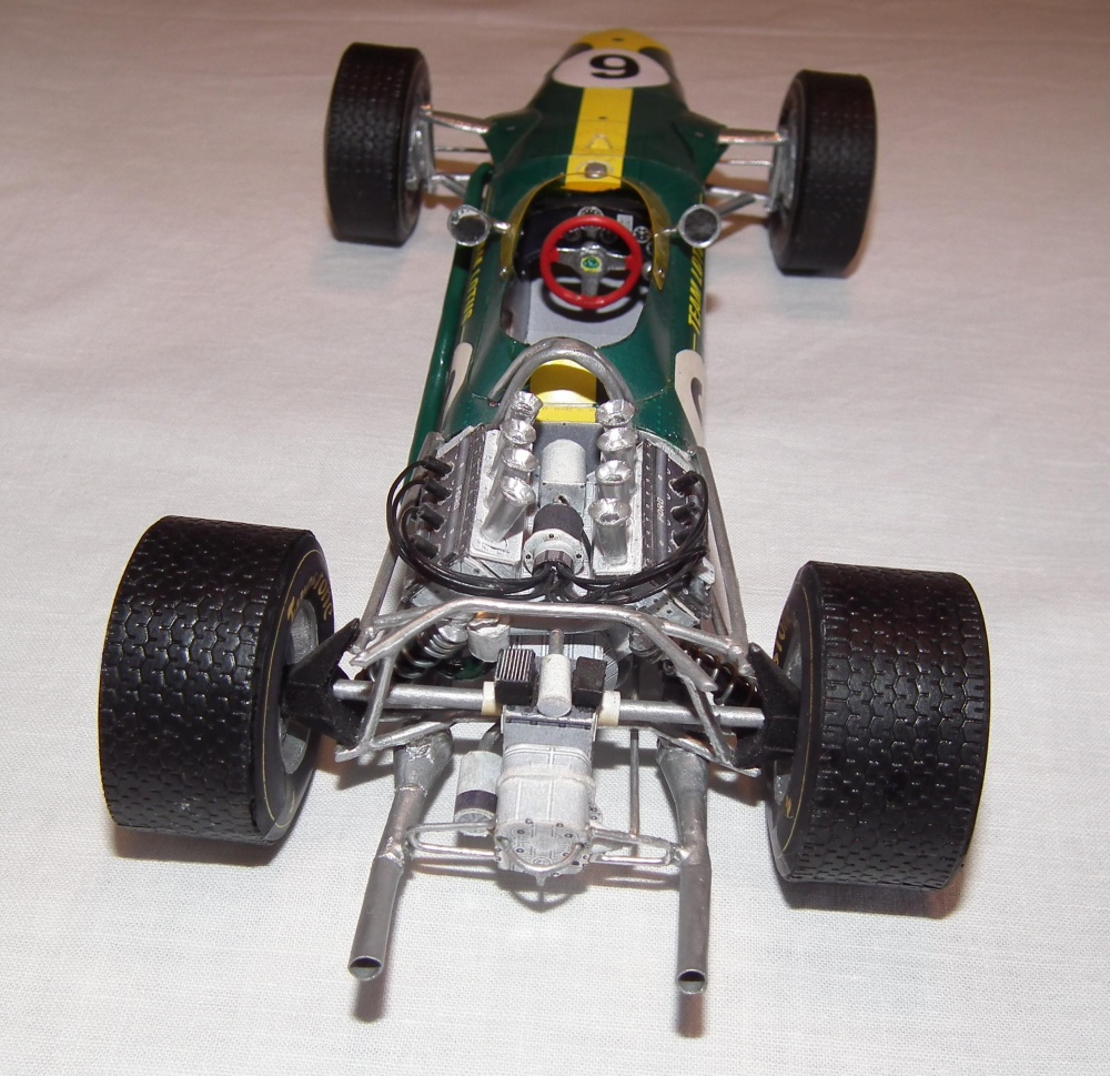 Lotus 49 Hill Holandsko 1967