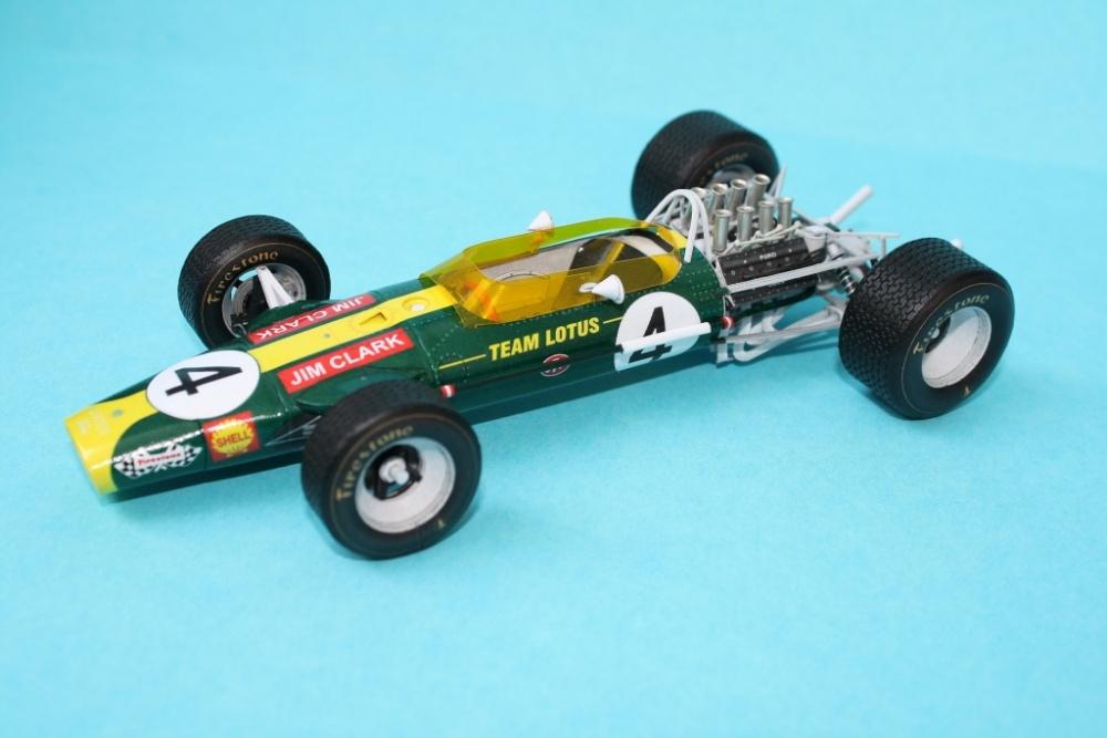 Lotus 49 S.A.GP1968, J.Clark