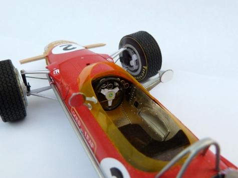 Lotus 49B MKI VC Belgie ´68, J.Oliver