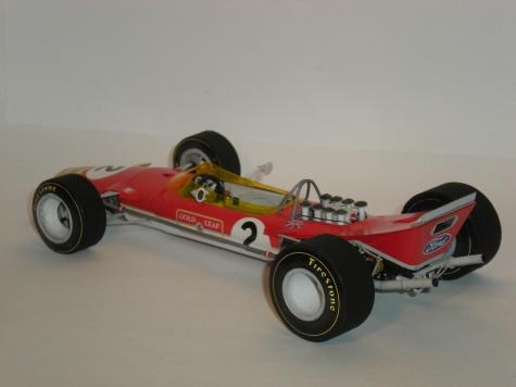 Lotus 49B Mk.I, Belgian 1968, Oliver