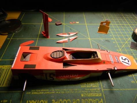Lotus 56B - Dave Walker - 24 hodinovka