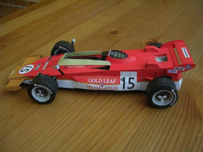 Lotus 56B, 1971 Dave Walker
