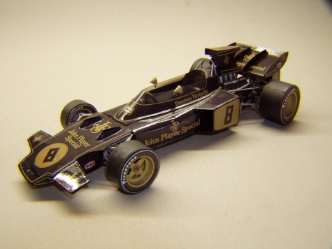 Lotus 72D, 1972, E. Fittipaldi