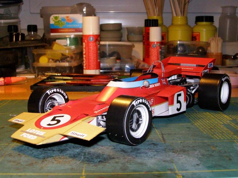 Lotus 72, Jochen RINDT