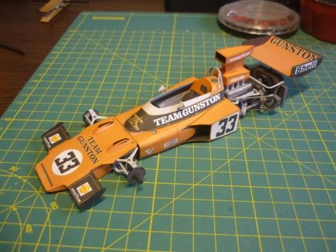 Lotus 72 E / Eddie Keizan / JAR 75