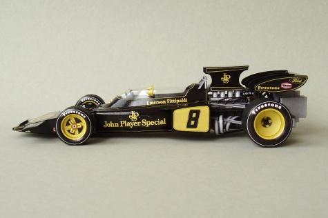 Lotus 72D (1972; Fittipaldi)