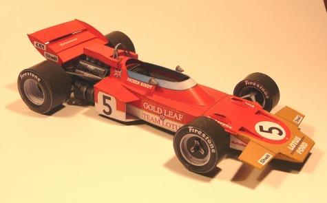 Lotus 72D, 1970