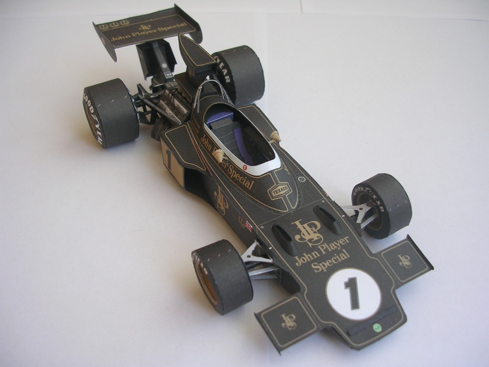 Lotus 72D, 1973 Emerson Fittipaldi