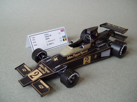 Lotus 76 (1974; Ickx)