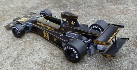 Lotus 76 - GP JAR 1974