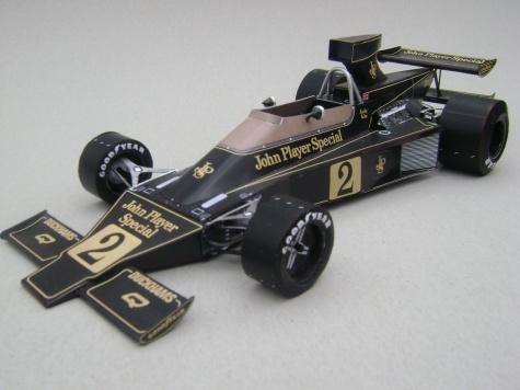 Lotus 76, 1974, J. Ickx