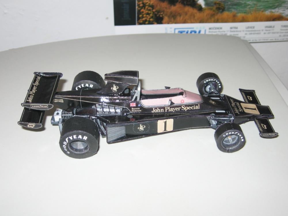 Lotus 76 GP S.Africa  1974 R.Peterson