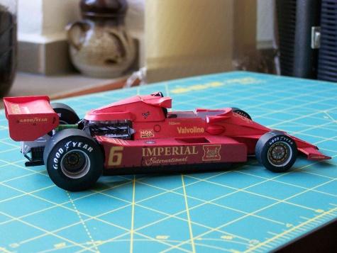 Lotus 78 GP Japonska 1977 Nilsson