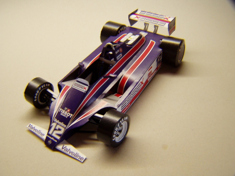 Lotus 81, 1980, E. De Angelis