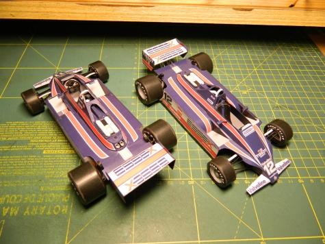 Lotus 81, Elio De Angelis + Mário Andretti