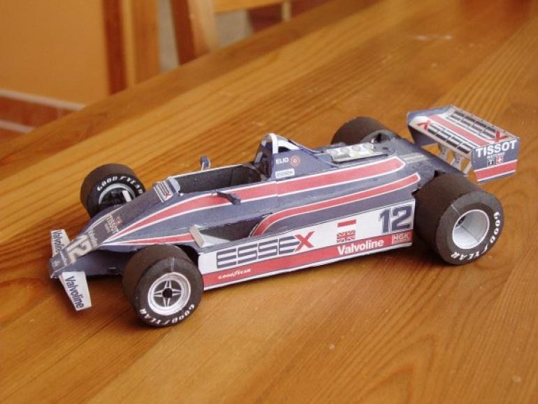Lotus 81, 1980 Elio de Angelis