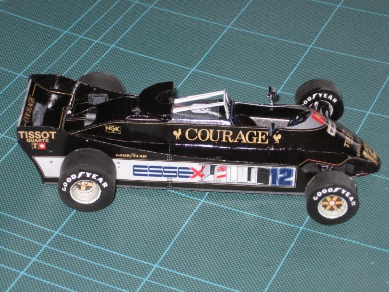 Lotus 88 B , test car