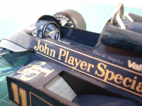 LOTUS 91  Austrian GP 1982
