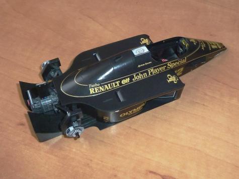 Lotus 97T (1985; Senna)