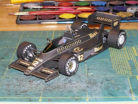 Lotus 98 T A.Senna 24-hodinovka