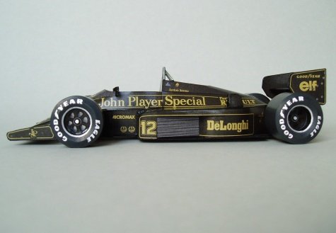 Lotus 98T (1986; Senna)