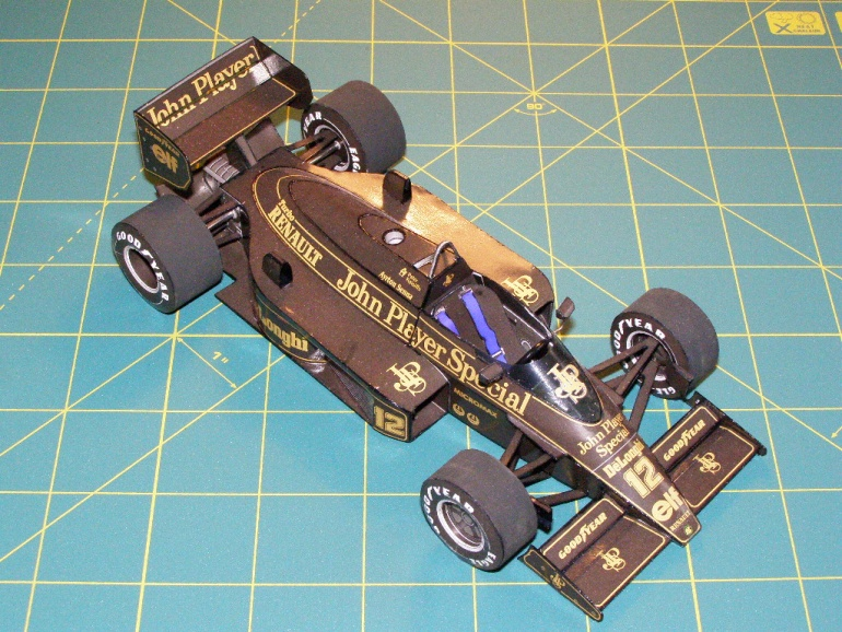 Lotus 98T, A.Senna