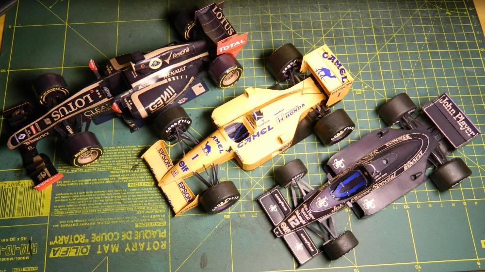 LOTUS 98T, Ayrton Senna 1986 / Free